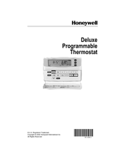Honeywell T8602C Owner's Manual