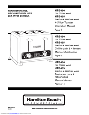 hamilton beach 6 slice toaster oven manual