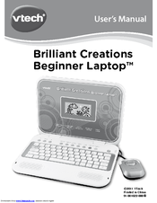 vtech brilliant creations beginner laptop manual