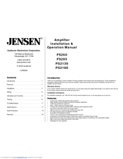 jensen ps285 manuals rh manualslib com