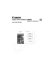 Canon 0329B001 - Optura 60 Camcorder Instruction Manual