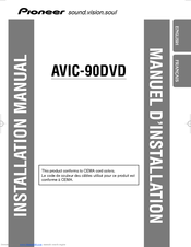 Pioneer AVIC S2 - Automotive GPS Receiver Installation Manual