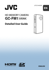 JVC GC-FM1A - PICSIO HD Camcorder Detailed User Manual