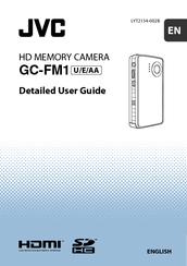 JVC GC-FM1A - PICSIO HD Camcorder User Manual