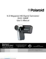 polaroid dvg 1080p high definition digital video camera manuals rh manualslib com polaroid dvd player dvp-1000 manual Polaroid 700
