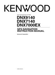 kenwood dnx 9140 excelon navigation system instruction manual rh manualslib com Kenwood DNX9140 Update Software Kenwood DNX9140 Update Software