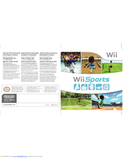 nintendo wii sports manuals rh manualslib com Japanese Wii U Instruction Manual Instruction Booklet Wii