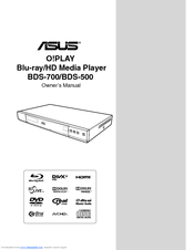 Asus O!PLAY BDS-500 Owner's Manual