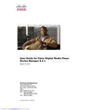 Cisco DMP 4305G User Manual