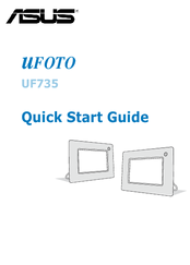 Asus uFOTO UF735 Quick Start Manual