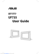 Asus uFOTO UF735 User Manual