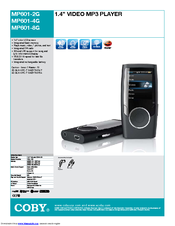 coby mp601 4gblk manuals rh manualslib com coby mp601-4g user manual coby mp601-2g manuel