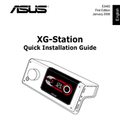Asus XG Station Quick Installation Manual