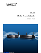 Linksys media center extender with dvd player dma2200, very good.