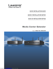 Linksys official support connecting the digital media extender.
