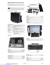 HP ap5000 Illustrated Parts And Service Map