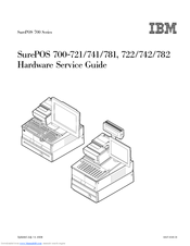 IBM SurePOS 722 Hardware Service Manual