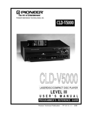 Pioneer CLD-V5000 Programmer's Reference Manual