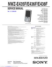 sony walkman nwz e438f manuals rh manualslib com Sony Walkman Blue sony walkman nwz-e438f software