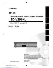 toshiba sd v296 dvd vcr manuals rh manualslib com Toshiba DVD VCR Combo Toshiba DVD VCR Combo