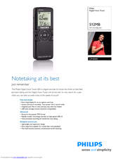 Philips LFH0632/27B Digital Recorder 64Bit