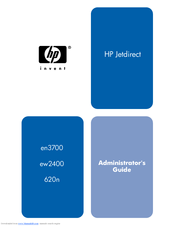 HP J7934A - JetDirect 620n Print Server Administrator's Manual