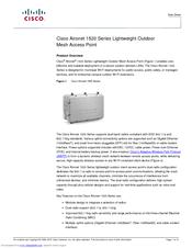 Cisco Aironet AIR-LAP1522AG-A-K9 Manuals