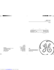 GE Spacemaker 7-5350 User Manual