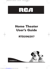 RCA RTD206 User Manual