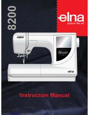 ELNA 8200 INSTRUCTION MANUAL Pdf Download