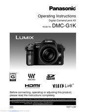 panasonic lumix dmc g1 operating instructions manual pdf download rh manualslib com panasonic g7 user guide panasonic fz-g1 user guide