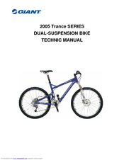 Giant 2005 Trance SERIES Service Manual