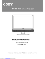 coby tftv1923 19 lcd tv manuals rh manualslib com Toshiba LCD TV Panasonic LCD TV