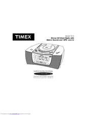 timex t610s cd clock radio user manual pdf download rh manualslib com