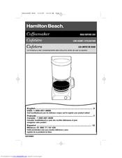 hamilton beach 29882c manual pdf