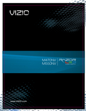 vizio m550nv razor led manuals. Black Bedroom Furniture Sets. Home Design Ideas