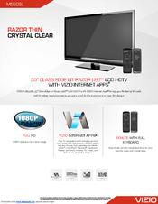 vizio m550sl manuals rh manualslib com Vizio Remote Control Guides Vizio Remote User Manual