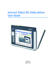 Nokia 770 - 770 Internet Tablet User Manual