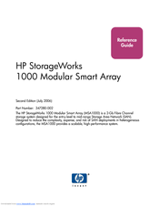 HP 353803-B22 - StorageWorks Modular Smart Array 1000 SAN Starter Reference Manual