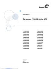 Barracuda 36es family: st336737lw/lc st318437lw/lc seagate.