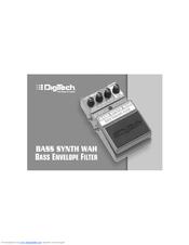 Digitech bass synth wah manual.