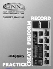 digitech gnx4 manual espaol