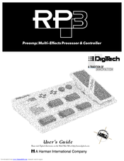 Digitech Jamman User Manual