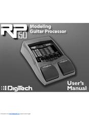 digitech rp150 user manual pdf download rh manualslib com Digitech RP50 Digitech Pedals