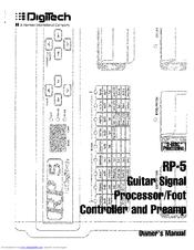 digitech rp5 manuals rh manualslib com digitech rp500 manual digitech rp500 manual