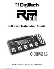 digitech rp500 software installation manual pdf download rh manualslib com Digitech GFX-1 Digitech Bass Multi-FX Processors