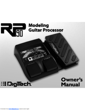 DIGITECH RP90 Owner's Manual