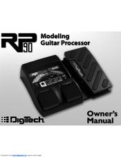 DIGITECH RP90 Owner's Manual