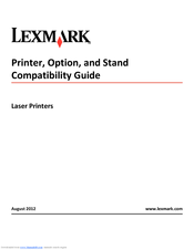 Lexmark CX310 series Manual