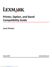 Lexmark X864 Manual